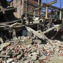 Emergenza terremoto Manipur – India