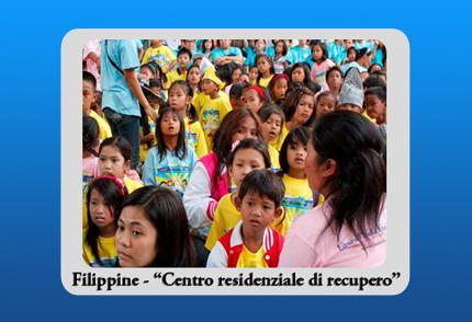 Filippine – Centro residenziale di recupero