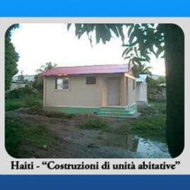 Haiti – Costruzioni di unità abitative