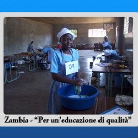 Zambia – Per un'educazione di qualità